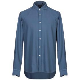 《期間限定セール開催中!》LIU JO MAN メンズ シャツ ブルー 42 コットン 100%
