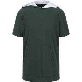 《セール開催中》ARMANI EXCHANGE メンズ T シャツ ダークグリーン XS コットン 100%