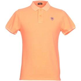 《期間限定 セール開催中》BLAUER メンズ ポロシャツ オレンジ S コットン 100%