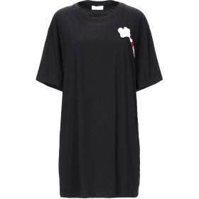 《セール開催中》AU JOUR LE JOUR レディース T シャツ ブラック 42 コットン 100%