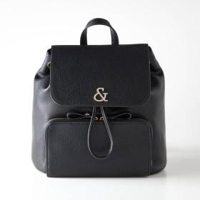 バッグ カバン 鞄 レディース リュック ピンキーアンドダイアン レザー調コンパクトキルティングリュック カラー 「ブラック」
