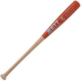 ゼット(ZETT) 硬式野球 木製バット スペシャルセレクトモデル SPECIAL SELECT MODEL 84cm ナチュラル/Lレッド BWT16814 1263 ST 野球用品 社会人 大学 硬式