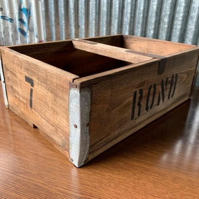 おしゃれに収納☆持ち運べる木箱