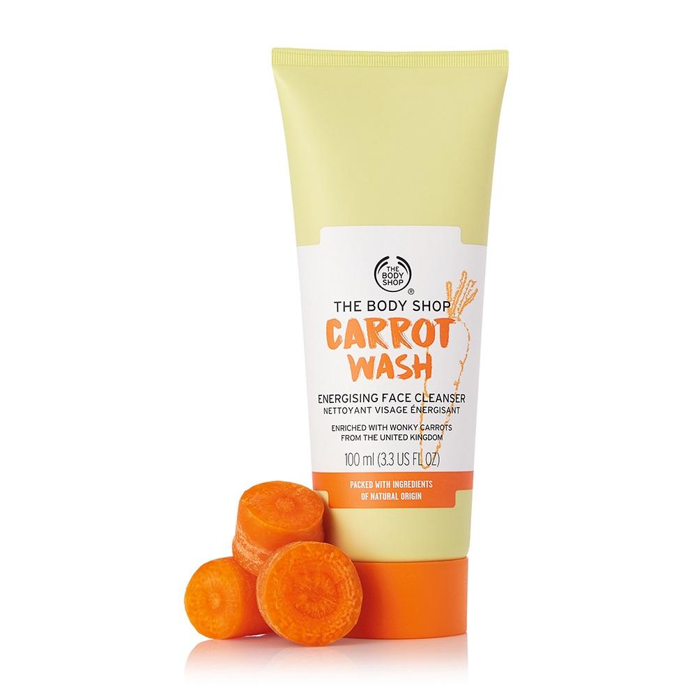 胡蘿蔔活顏嫩膚潔顏乳-100ML
