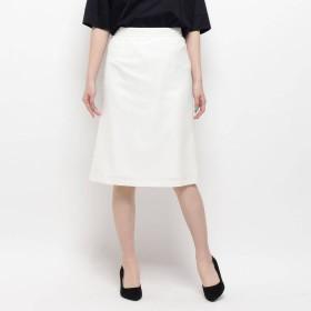 ソフール Sofuol 台形スカート (ホワイト)