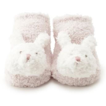 【ジェラート ピケ/gelato pique】 【BABY】'ベビモコ'ウサギ baby ソックス