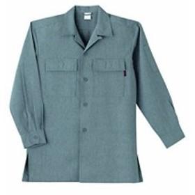 SOWA(ソーワ) 丈長オープンシャツ グレー LLサイズ 63015