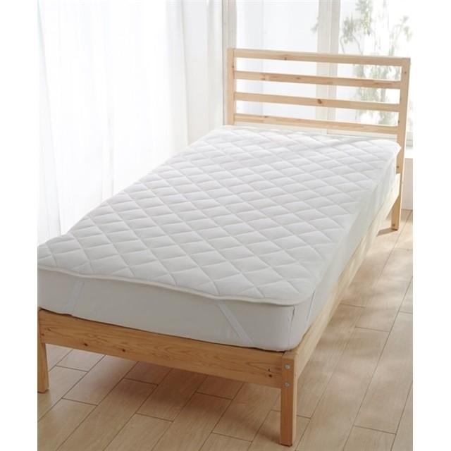 【ボリュームアップ】マイクロふんわり中わたボリューム敷パッド 敷きパッド・ベッドパッド
