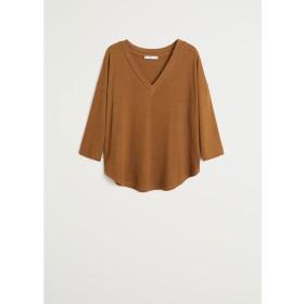 Tシャツ - PICEASY (ブラウン)