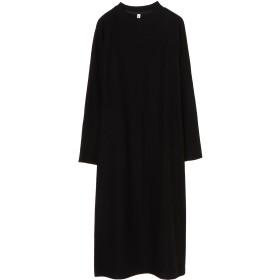 08sircus Super140's jacquard dress ワンピース,black
