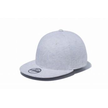 NEW ERA ニューエラ キッズ 9FIFTY スウェット NYC ロゴ ヘザー スナップバックキャップ アジャスタブル サイズ調整可能 ベースボールキャップ キャップ 帽子 男の子 女の子 52 - 55.8cm 12108305 NEWERA