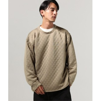 JOURNAL STANDARD QUILTED クルーネック ベージュ M