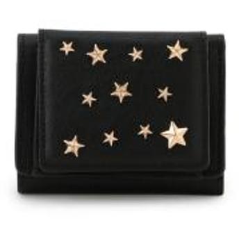 星型スタッズ3つ折りミニ財布【お取り寄せ商品】