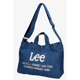 Lee ニュースペーパー2wayショルダーバッグ 中濃加工色