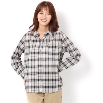 【テチチ/Te chichi】 チェック柄ワイヤーシャツ LS
