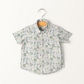[マルイ]【セール】SHIPS KIDS:リバティ ヨット柄 シャツ(80-90cm)/シップス キッズ(SHIPS KIDS)