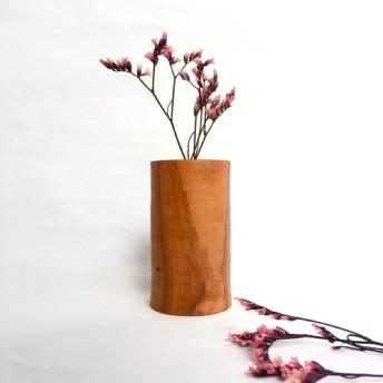 Creema限定☆一輪挿し 山桜 Mサイズ 天然木(無垢材)