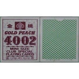 金桃4002撲克牌(迷你)[24打/箱]