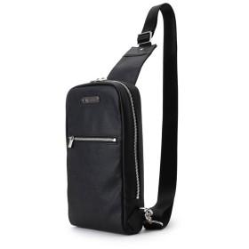ティーケー タケオ キクチ tk. TAKEO KIKUCHI PVC縦型ボディバッグ (ブラック)
