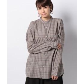koe コエ G クラシックチェックシャツ