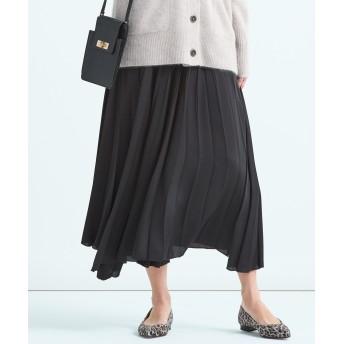 【オンワード】 23区 S(ニジュウサンク 小さいサイズ) サテンプリーツ スカート(検索番号D24) グレー 32 レディース 【送料無料】