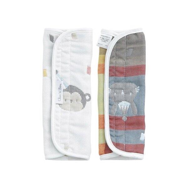 奇哥 動物派對六層紗揹巾口水巾組
