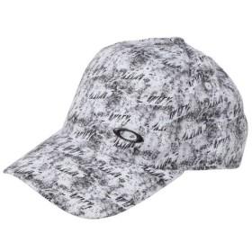 オークリー キャップ LOGO CAP 13.0 (912234JP-1 186) 帽子 : ホワイト OAKLEY