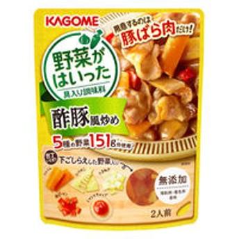 カゴメ 野菜がはいった具入り調味料 酢豚風炒め 1箱