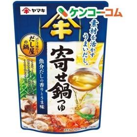 だしで味わう寄せ鍋つゆ ( 750g )/ ヤマキ