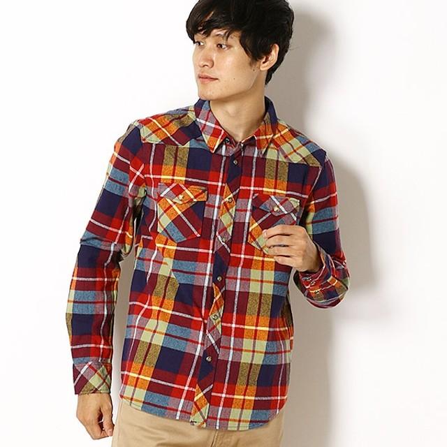 [マルイ]【セール】ビエラチェックシャツ(微起毛ネルシャツ)/クリフメイヤー(メンズ)(KRIFF MAYER)