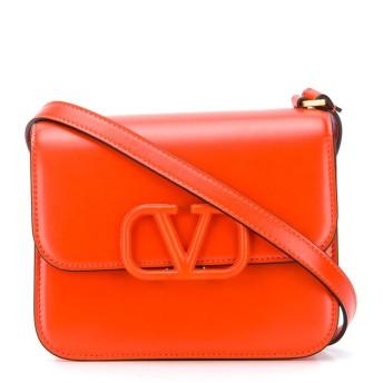 Valentino Valentino Garavani ロゴ ショルダーバッグ - オレンジ