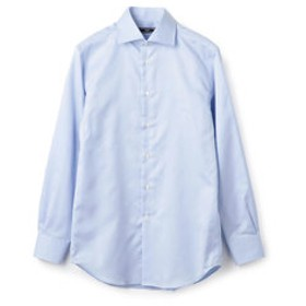 【SHIPS:トップス】SD: イージーアイロン ハケメ ソリッド ワイドカラー シャツ