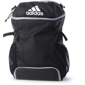 アディダス adidas サッカー/フットサル バックパック ボール用デイパック 黒色×シルバー色 ADP31BKSL
