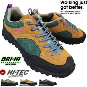 ハイテック HI-TEC AORAKI WP HT HKU11 メンズ 各色 ローカットスニーカー ウォーキングシューズ 運動靴 透湿防水 ドライハイ ウォータープルーフ ライト