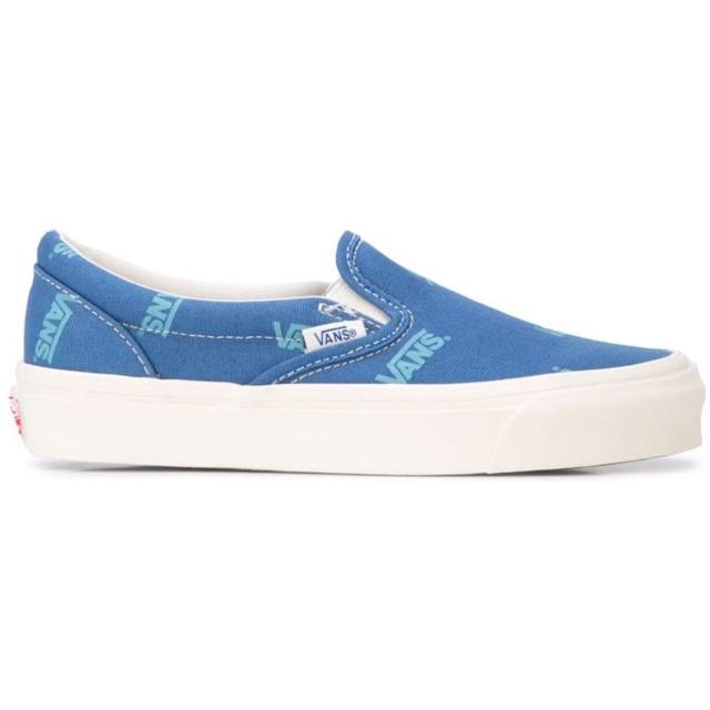 Vans スリッポン スニーカー - ブルー