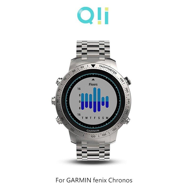 現貨到!強尼拍賣~Qii GARMIN fenix Chronos 玻璃貼 (兩片裝) 錶徑3.5cm