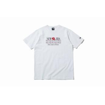 NEW ERA ニューエラ コットン Tシャツ オールドロゴ アーカイブ ホワイト 半袖 ウェア メンズ レディース Large 12108181 NEWERA