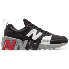 (NB公式)【ログイン購入で最大8%ポイント還元】 ユニセックス MS574 AGB (ブラック) スニーカー シューズ 靴 ニューバランス newbalance