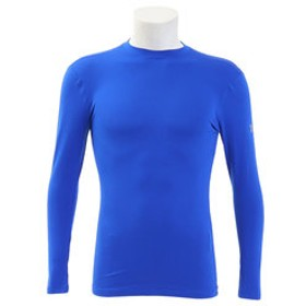 【Super Sports XEBIO & mall店:スポーツ】コールドギアアーマークルーネックシャツ #1327600 RYL/STL AT