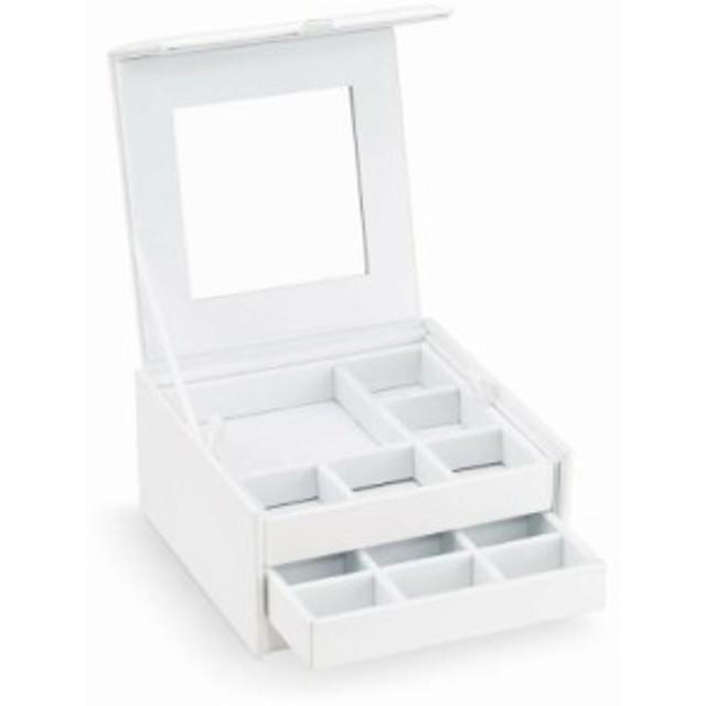 スワロフスキー Swarovski White collection ジュエリーボックス 鏡付き ホワイト 5428598