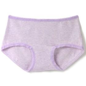 (fran de lingerie/フランデランジェリー)Hip Hugger Shorts ヒップハンガーショーツ cotton/レディース ラベンダー