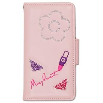【マリークヮント/MARY QUANT】 デイジーコスメ刺繍 モバイルケースfor iPhone7/8