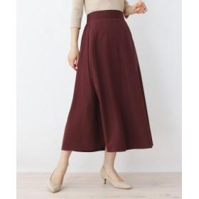 (pink adobe/ピンクアドベ)スパンブロードAラインスカート/レディース ボルドー(064)