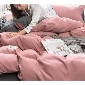 高レビュー多数 超特価中 韓国ファッション CHIC気質 おしゃれな トレンド 新品 大人気 INSスタイル 枕カバー 4点セット ふとんのシーツ シーツ 宿舎 簡約 寝具