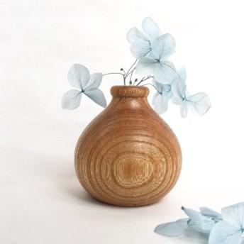 Creema限定☆一輪挿し 欅 Mサイズ 天然木(無垢材)