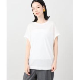 (Plage/プラージュ)《追加》リヨセルハイゲージTシャツ2◆/レディース ホワイト