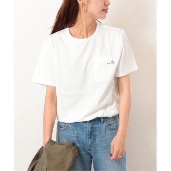 JOURNAL STANDARD relume 【A.P.C. for relume/ 別注アーペーセー】 T-SHIRT JESS:Tシャツ ホワイト S