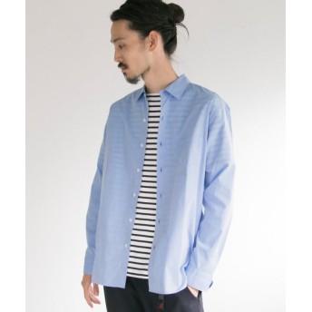 【50%OFF】 アーバンリサーチ マスターシードコットン レギュラーシャツ メンズ BLUE S 【URBAN RESEARCH】 【セール開催中】