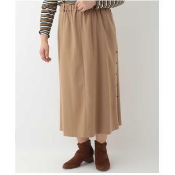 eur3 【大きいサイズ】ギャザースカートサロペット その他 スカート,ベージュ
