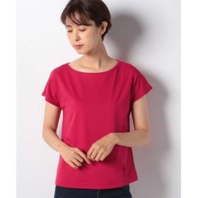 【55%OFF】 オールドイングランド OE刺繍Tシャツ レディース レッド 36(M) 【OLD ENGLAND】 【タイムセール開催中】